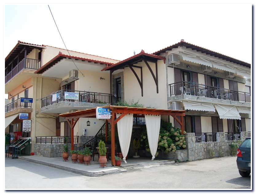 House Eleftheria apartments sarti